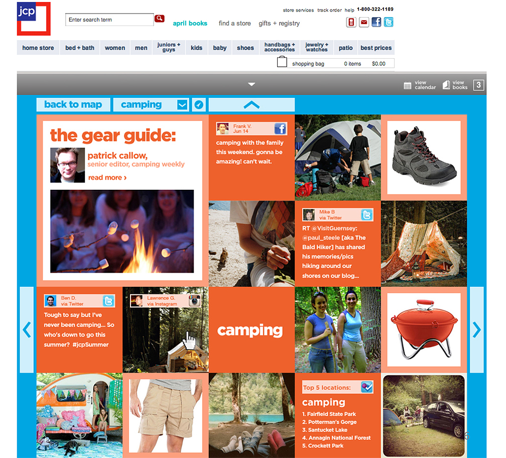 JCPenney - Social Media Campaign with Crowdsourced Content