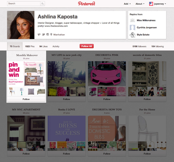 JCPenney - Social Media Influencer Campaign