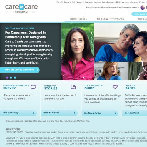 Care To Care for Exelon: Championing Alzheimer's Caregivers