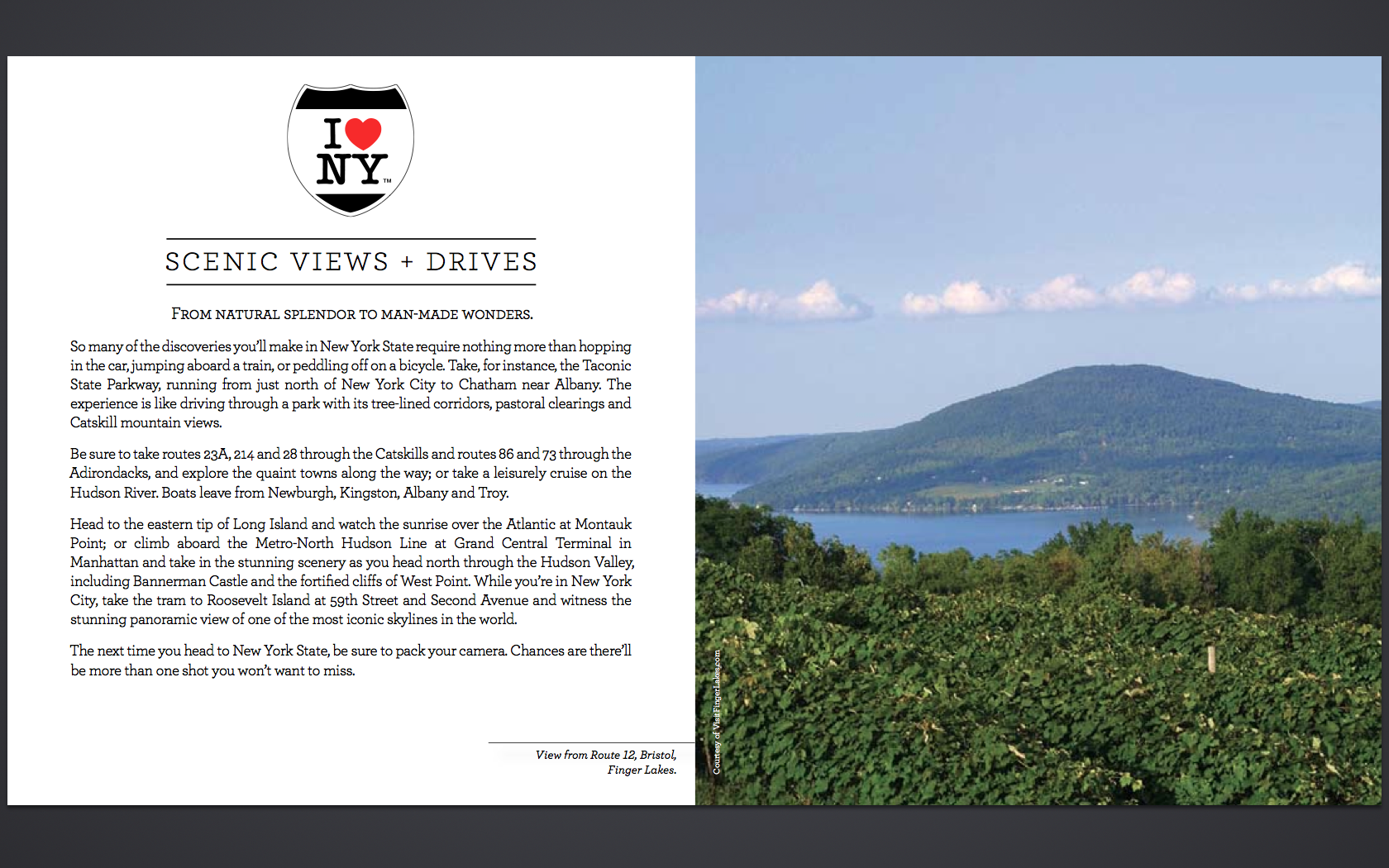 I Love NY - Customizable Brochure