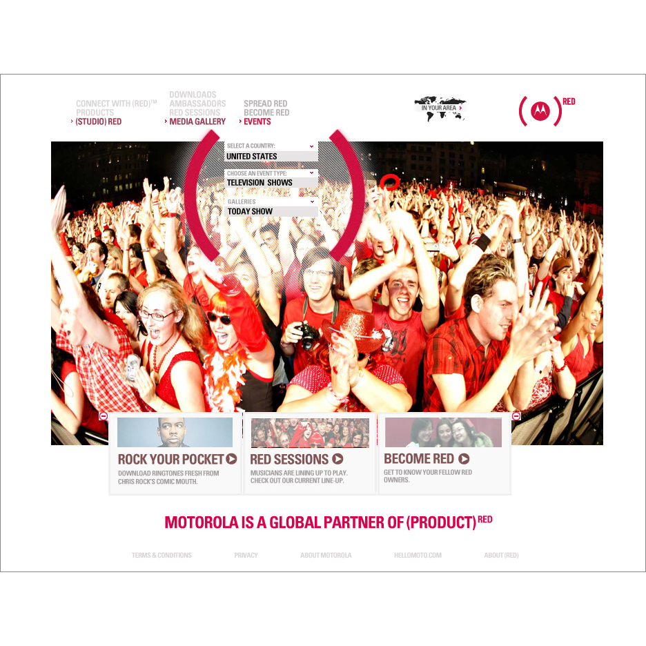Motorola & Product (RED)™: Helping Eliminate AIDS in Africa