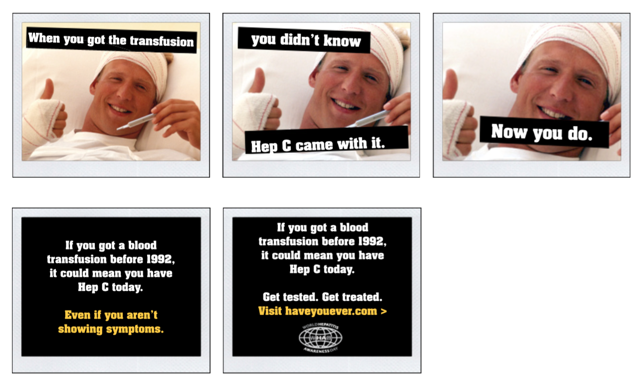 "World Hepatitis Awareness Day - ""Have You Ever"" Campaign"