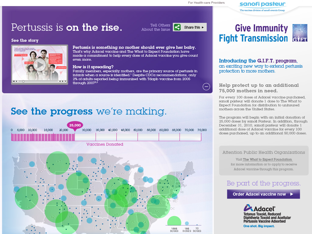 Adacel - Pertussis Protection Campaign